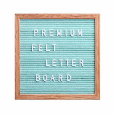 Felt Letter Board Small - Mint