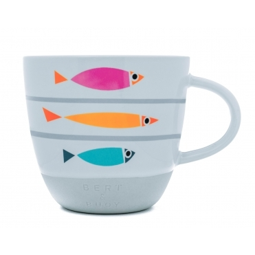 Fishy Line Up Mug in Gift Box