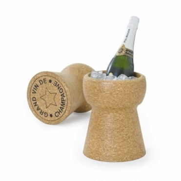 Giant Champagne Cork Ice Bucket Cooler Grand Vin De Champagne