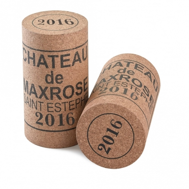 Hurn & Hurn Discoveries Giant Wine Cork Table / Stool Chateau de MaxRose 2017