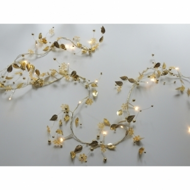 Gold Whisper LED Fairy String Light Chain Battery Operated