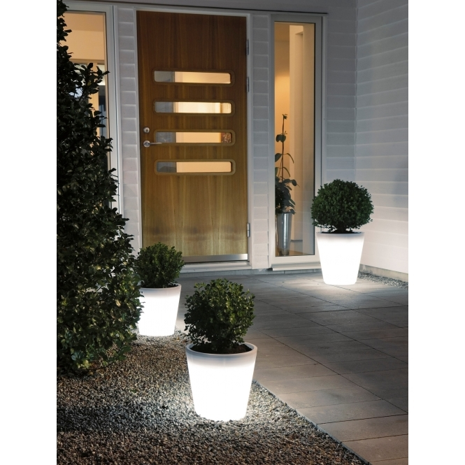 Hurn & Hurn Discoveries Illuminated LED Plant Pot - Small