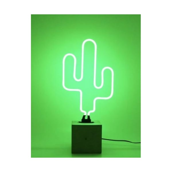 neon cactus light with base hurn and hurn. Black Bedroom Furniture Sets. Home Design Ideas