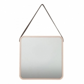 Hurn & Hurn Discoveries Salute Square Mirror - Copper