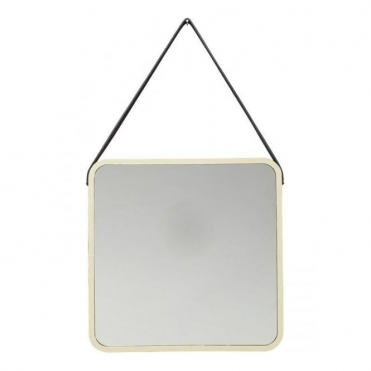 Salute Square Mirror - Gold