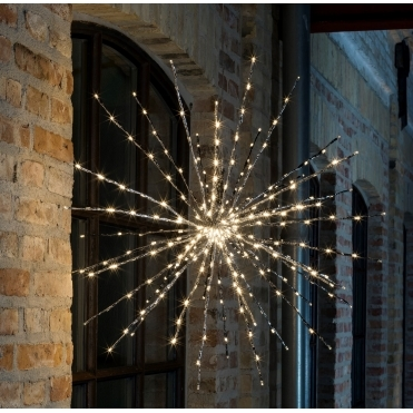 Starburst Ball of Twigs Light 280 LEDs Large - Silver