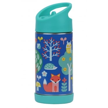 Insulated Children's Water Bottle Stainless Steel - Woodland