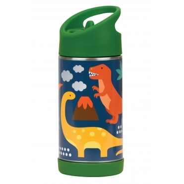 Insulated Water Bottle Stainless Steel - Dinosaurs