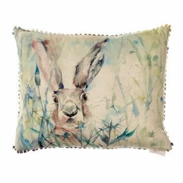 Jack Rabbit Rectangular Cushion