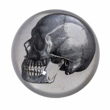 Skull Paperweight - Black Gift Box