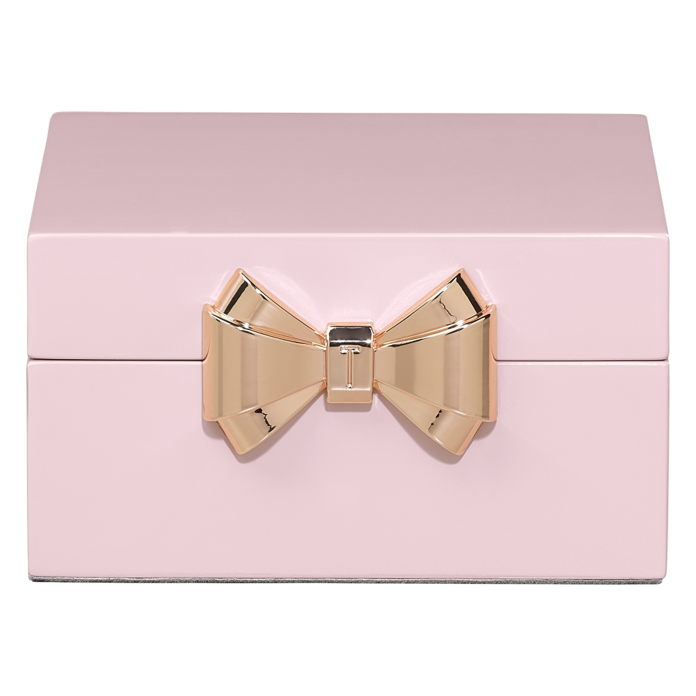 Ted Baker Womens Jewellery Box Small Pink Hurn and Hurn