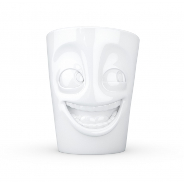 Joking Face Mug With Handle
