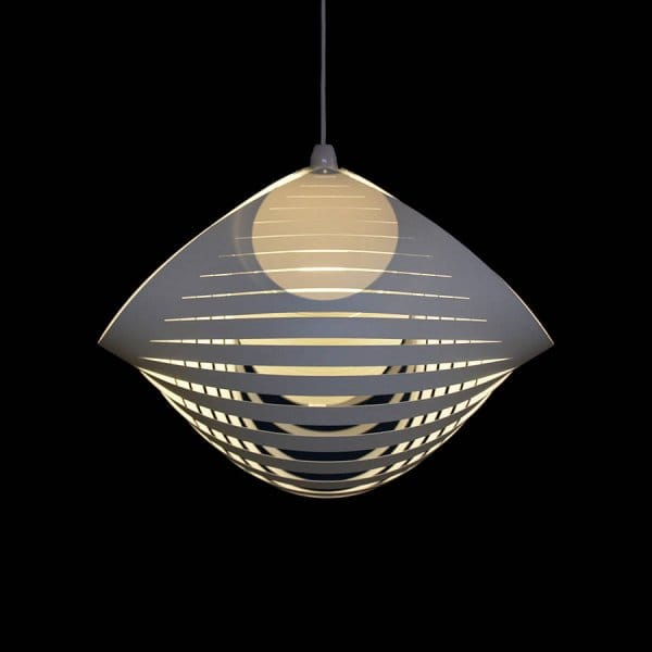 kaigami large 45cm ceiling pendant light shade