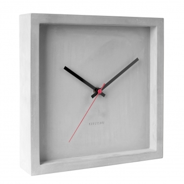 Franky Wall Clock - Concrete