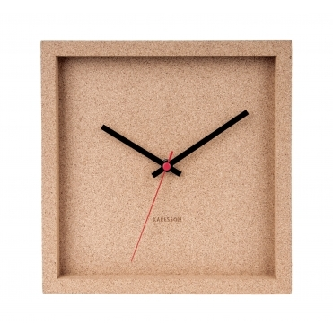 Franky Wall Clock - Cork