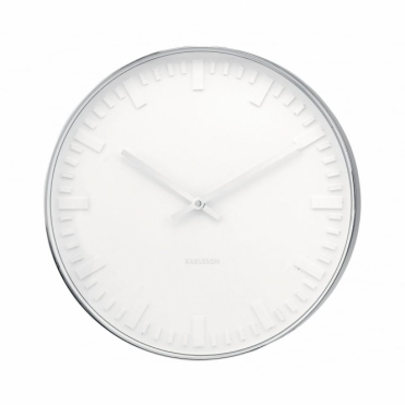 Mr White Station 37.5cm Wall Clock