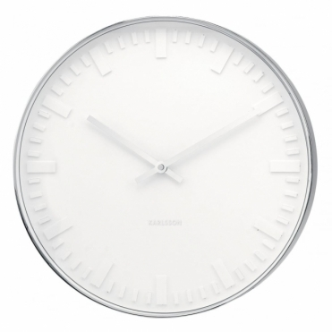 Mr White Station 51cm Large Wall Clock
