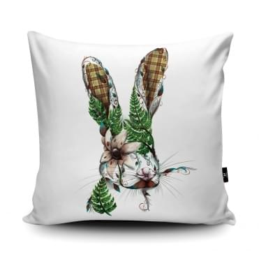 Katharine Baxter Harry Hare Cushion With Insert