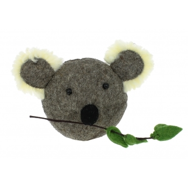 Koala Felt Animal Wall Head - Mini