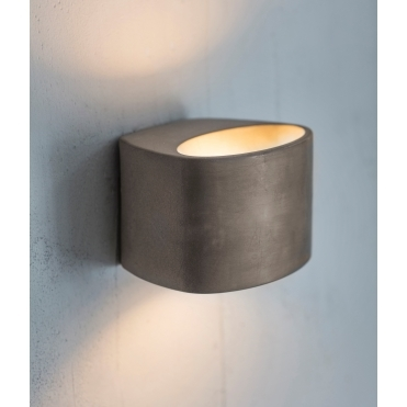 Lambeth Up & Down LED Wall Light - Concrete