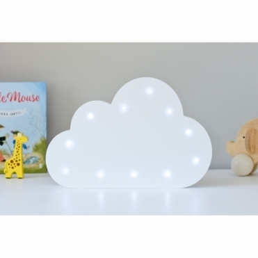 Light Up LED Night Light Lamp - Cloud