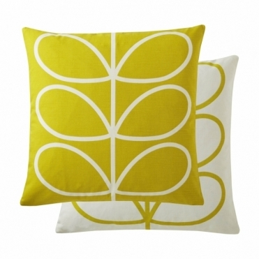 Linear Stem Cushion - Sunflower