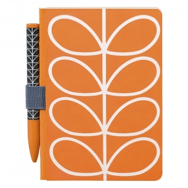 Linear Stem Pocket Notebook and Pen Set