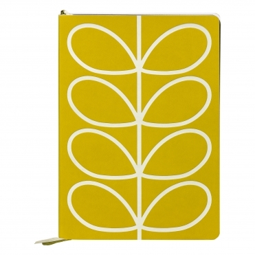 Linear Stem Yellow A5 Classic Notebook