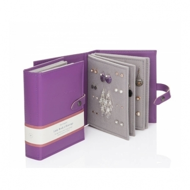 Earrings Storage - Purple