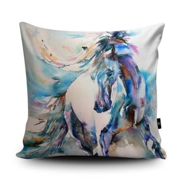 Liz Chaderton Spanish Horse Cushion With Insert