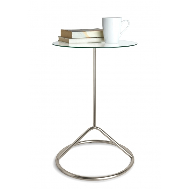 Loop Side Table - Nickel