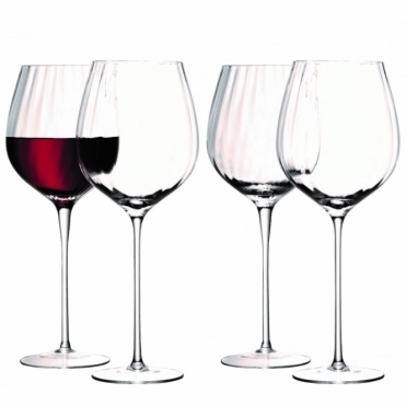 Aurelia Red Wine Glasses Set of 4