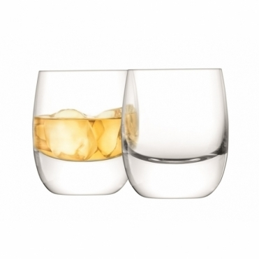 Bar Whisky Curved Tumblers - Set of 2