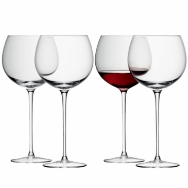 Wine Balloon Glasses - Set of 4