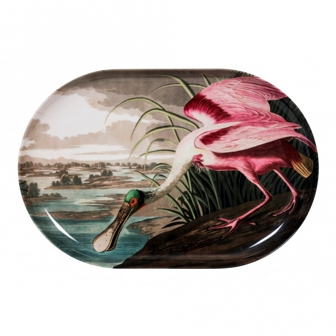 Magpie Birds Spoonbill Tray / Wall Art - Large