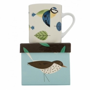 Blue Tit Mug in Gift Box