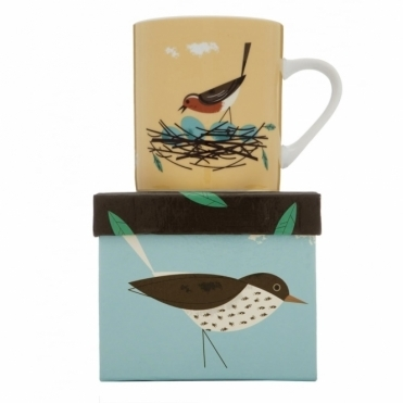 Robin Mug in Gift Box