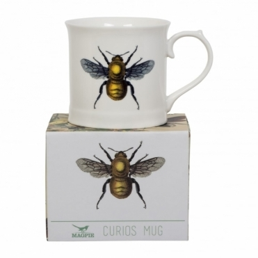 Bee Mug - Beautifully Illustrated Gift Box