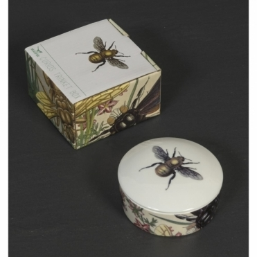 Bee Trinket Box - Beautifully Illustrated Gift Box