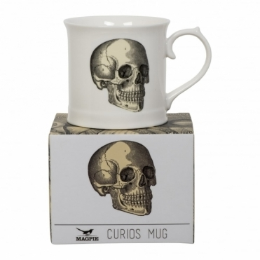 Skull Mug - Beautifully Illustrated Gift Box