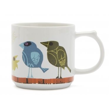 Family of Birds Mug - Gift Box