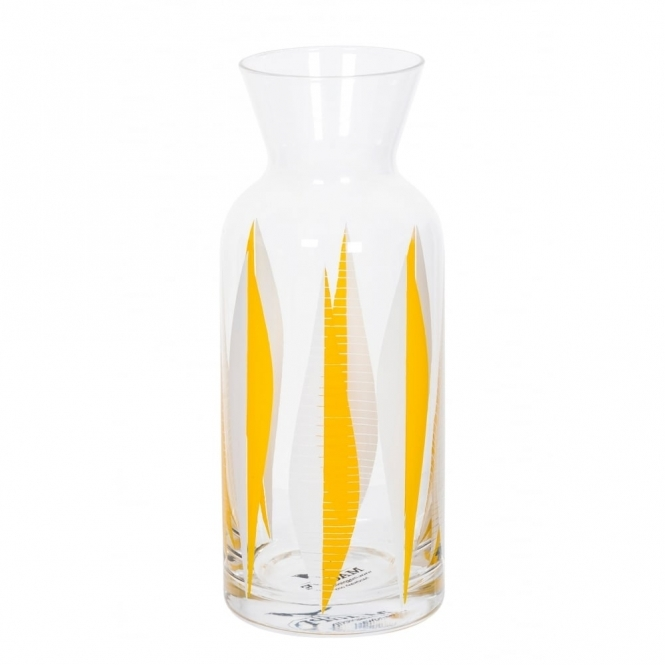 Magpie Form Yellow 60s Patterned Carafe
