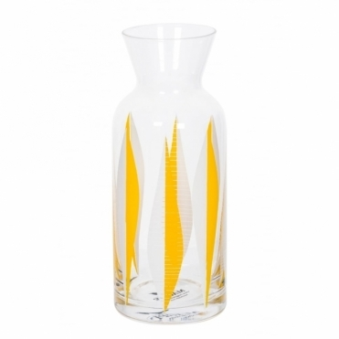 Yellow 60s Patterned Carafe