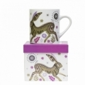 Magpie Wildwood Mugs Set of 4 : Fox, Squirrel, Owl & Hare