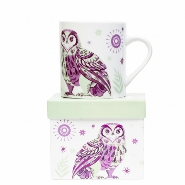 Owl Mug in Gift Box