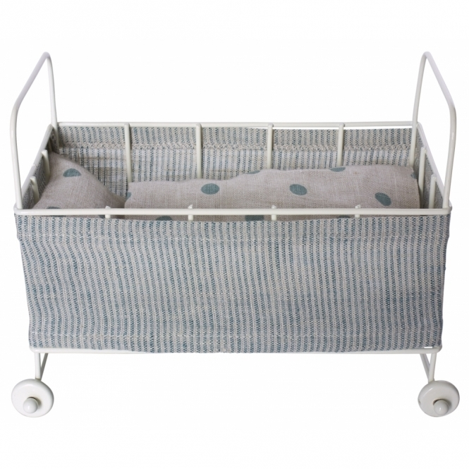 Maileg Metal Baby Cot