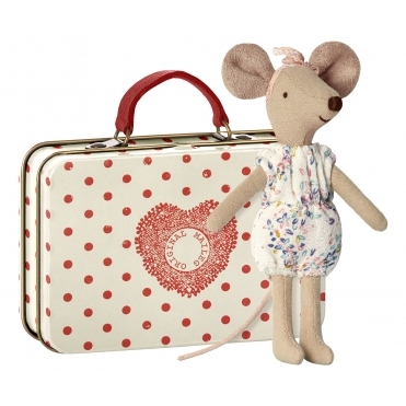 Big Sister Mouse in Suitcase
