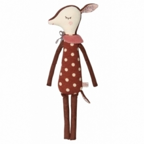 Sleepy Wakey Bambi Dots - Medium