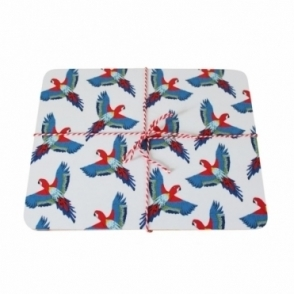 Parrot Placemats - Set of 4