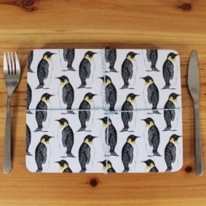 Party Penguin Placemats - Set of 4